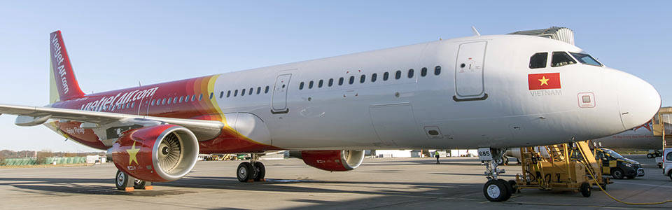 Vietjet Airbus A321 (MSN 7143)
