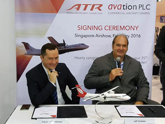 $130 million aircraft contract with ATR